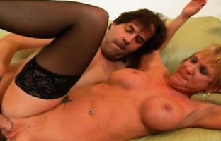 Sexhungrige Oma