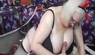 Oma Porno Handjob Amateur-Deflung-Pornos