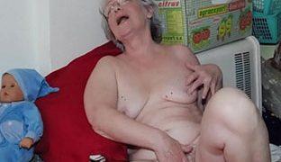 Heisse Oma Nacktbilder mit uralten Frauen