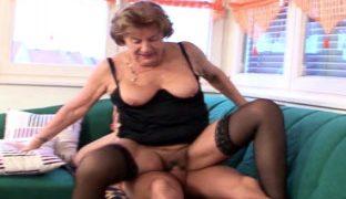 Heisser deutscher Rentnerfick Porno