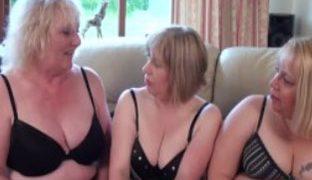 Amateur Sex Orgie mit notgeilen Omas