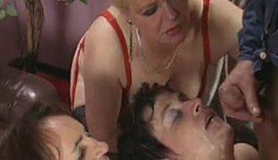 Grossmutter Sex Orgie