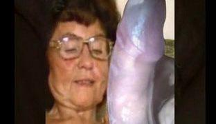 Heisser Oma Dildo Porno