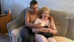 Russische oma porno