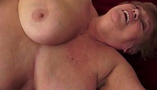 Geile grosse alte Titten