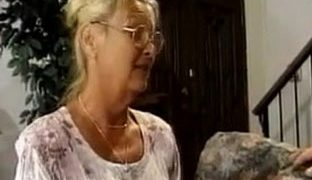 Schwiegersohn fickt Oma durch