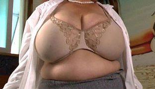 Oma hat echt fette Titten