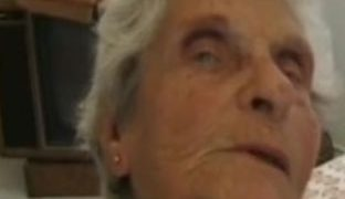 Eine 90 Jährige im Porno
